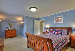 4 tags traditional kids bedroom with 2 light flush mount by millennium lighting blue white stripes red - Bedrooms Interior Designs 2