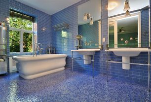 luxury blue bathroom design ideas & pictures | zillow digs