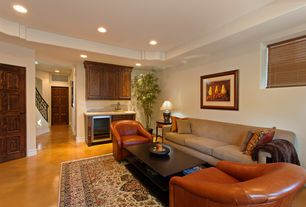3 tags mediterranean basement with specialty door concrete floors oriental rug - Concrete Floor Design Ideas