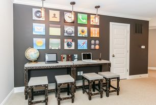 Eclectic Home Office Design Ideas & Pictures | Zillow Digs | Zillow