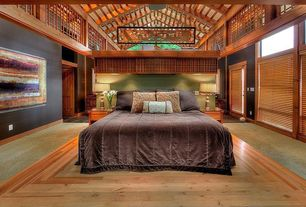 2 tags contemporary master bedroom with hardwood floors box ceiling cathedral ceiling exposed beam