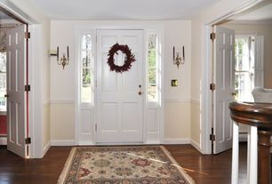 3 Tags Traditional Entryway With TT Double Sconce
