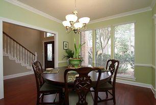 sherwin-williams sheraton sage dining room chair rail | zillow