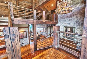 Delightful Rustic Staircase
