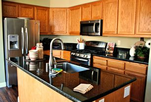 Marvelous 5 Tags Contemporary Kitchen With Black Galaxy Granite, Centaur Granite  Countertops, L Shaped, High