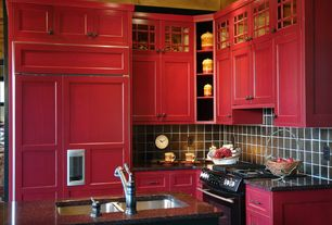 red tile paint for kitchens kitchen ideas design accessories amp pictures 7693