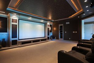 contemporary home theater - Home Theatre Design Ideas