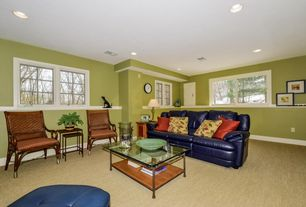 2 tags transitional basement - Basement Design Ideas Pictures