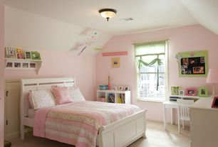 country kids bedroom with high ceiling art desk carpet smartstuff furniture classics full