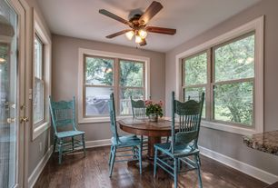 Country Dining Room Ceiling Fan Design IdeasPicturesZillow