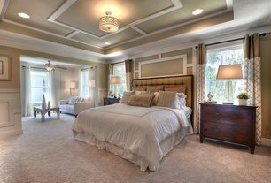 Transitional Master Bedroom transitional master bedroom wainscoting | zillow digs | zillow