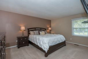 taupe bedroom. Traditional Master Bedroom with Carpet  High ceiling Budget Sherwin Williams Poised Taupe Zillow Digs