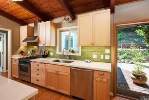 Contemporary Kitchen With One Wall Amp Flush In Fairfax Ca