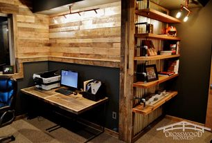 industrial home office design ideas & pictures | zillow digs | zillow