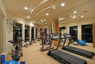 Luxury Tan Home Gym Design Ideas & Pictures | Zillow Digs | Zillow
