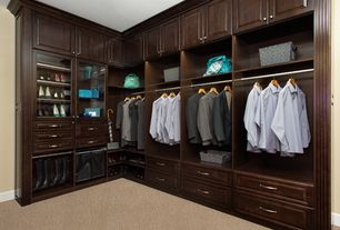 Great 3 Tags Traditional Closet With Built In Bookshelf, High Ceiling, Custom  Closet By Smart Closets