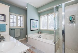 Traditional Master Bathroom With Swan 36 In X 72 In 1 Piece Easy