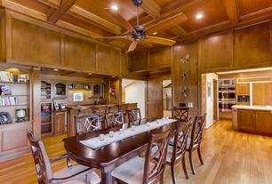 Brown Dining Room Ceiling Fan Design IdeasPicturesZillow