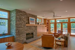 Modern Living Room Stone Fireplace Zillow Digs Zillow