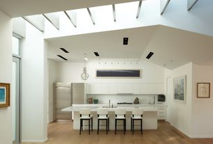 Contemporary Kitchen One Wall Design Ideas Amp Pictures