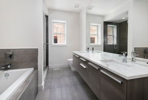 Contemporary Master Bathroom Design Ideas Pictures Zillow Digs Zillow