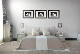 Art deco master bedroom with pendant light high ceiling zillow digs - Deco de chambre adulte ...
