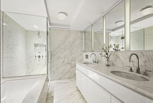 Master Bathroom Gray gray master bathroom design ideas & pictures | zillow digs | zillow