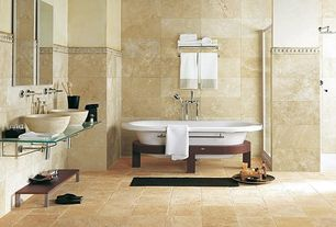 Contemporary Sherwin Williams Believable Buff Bathroom