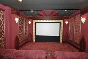 Home Theatre Design Ideas mini home theater design ideas youtube 3 Tags Art Deco Home Theater With Wall Sconce High Ceiling Carpet 8 Topsy