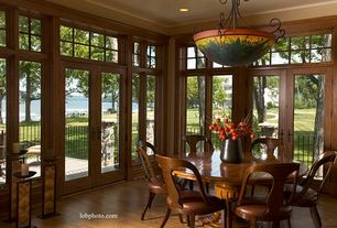 4 Tags Traditional Dining Room With Flush Light French Doors Crown Molding Kalco Lighting Mirabelle