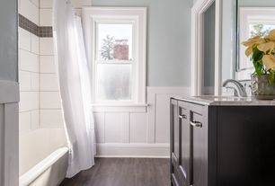 6 tags contemporary full bathroom with color strip 4 solid oak hardwood flooring in smoke by somerset user802994208 home design ideas 17 - Wainscoting Design Ideas