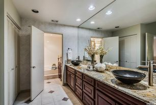 design in home. Contemporary Master Bathroom with Pattern Number  X2G7H7E7G5 Wallpaper Juparana Persia Granite Countertop Zillow Digs Home Improvement Design Remodeling Ideas