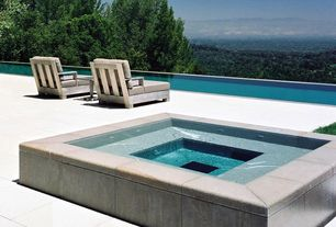 Hot Tub Design Ideas gorgeous decks and patios with hot tubs diy Modern Hot Tub With Exterior Tile Floors