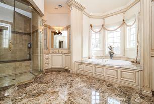 luxury bathroom glass panel design ideas & pictures