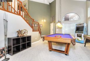 eclectic game room