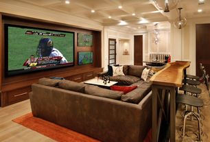 5 tags eclectic home theater with built in entertainment center laminate floors box ceiling chair - Entertainment Center Design Ideas