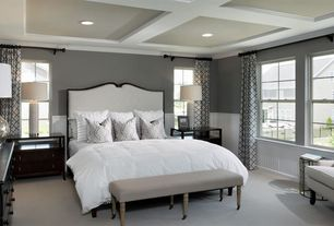 traditional master bedroom wainscoting  zillow digs  zillow, Bedroom decor