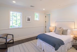 Transitional Master Bedroom Chair Rail Zillow Digs Zillow