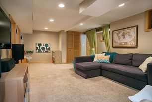 Basement Design Ideas 1980 15x15 basement design photos 2 Tags Transitional Basement