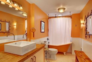 5 tags traditional full bathroom with flush light kraus bathroom combo set white square ceramic sink