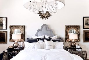 Luxury · White · Bedrooms. 4 Tags Traditional Master Bedroom With Ally  Headboard Without Nailheads, Upholstered Headboard