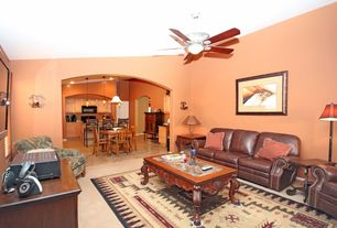 Sherwin-Williams Certain Peach Living Room | Zillow Digs | Zillow