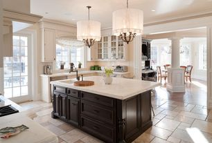 Contemporary kitchen with crown molding by houlihan lawrence zillow digs - Quelle densite pour un canape ...