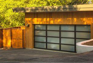 garage with aluminum u0026 glassmedium bronze frame satin etched glass high