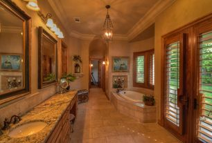 Brown master bathroom design ideas pictures zillow for Light brown bathroom ideas