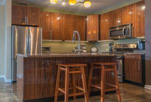 4 Tags Modern Kitchen With Breakfast Bar, Hardwood Floors, Flush, Kitchen  Island, Coronado Exotic
