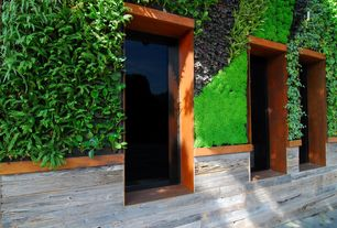 1 Tag Contemporary Exterior Of Home With Vertical Living Wall