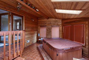 rustic hot tub with exterior tile floors exterior terracotta tile floors 151327 home design ideas - Hot Tub Design Ideas