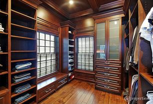 Contemporary Closet With Crown Molding U0026 Built In Bookshelf | Zillow Digs |  Zillow
