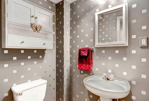Contemporary Powder Room With Pedestal Sink U0026 Flush In Aurora, CO | Zillow  Digs | Zillow